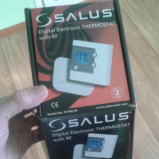 Термостат Salus для газового котла - обзор