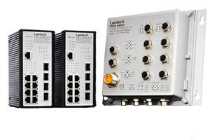 Защищенные промышленные коммутаторы Ethernet для создания отказоустойчивых сетей систем безопасности