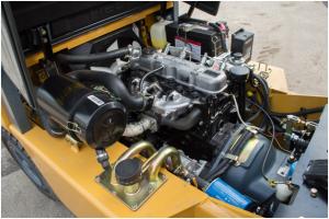 Дизельные погрузчики, техническое обслуживание двигателя