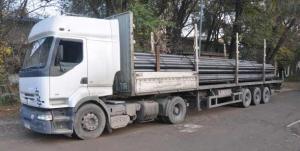 Транспортировка металлопроката