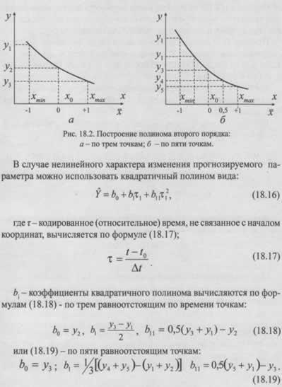 Использование МПАЭ для прогнозирования технического состояния объекта при действии одного фактора - времени