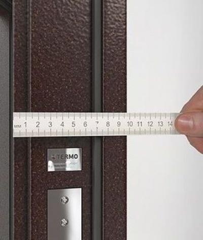 Какой должна быть толщина металла входной двери