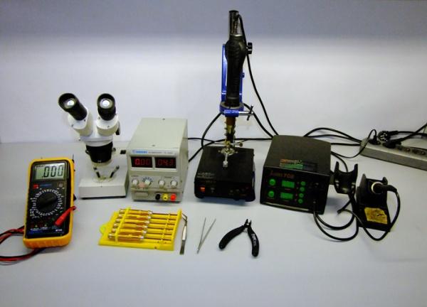 Виды инструментов для ремонта мобильных устройств