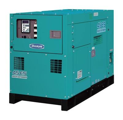 Обзор дизельного генератора 30 кВт Denyo DCA-45ESI 2017 года