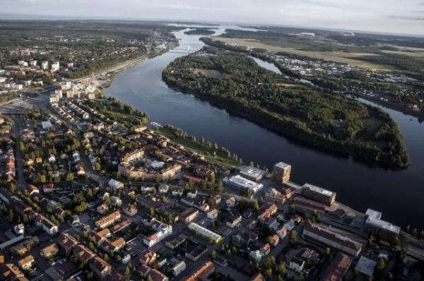 швеции, городок, студенческий