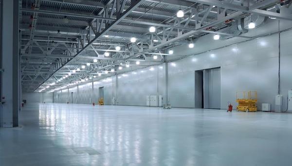 Особенности светодиодного освещения для промышленности