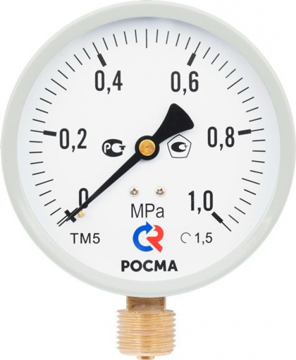 Манометр для ЖКХ типа ТМ серии 10М2