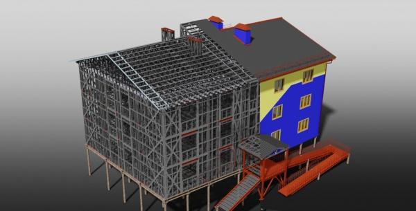 Промышленное строительное проектирование
