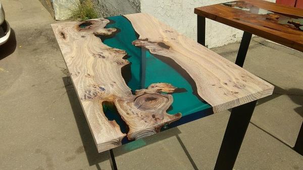 Столы из слэба - дикая эстетика