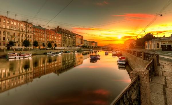 Исчезнувшие каналы Санкт-Петербурга