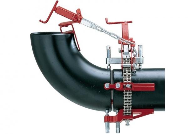 Применение центраторов для труб
